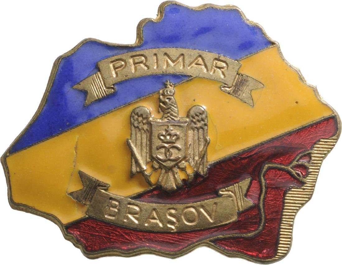 Carol II -Mayor's Badge of Brasov