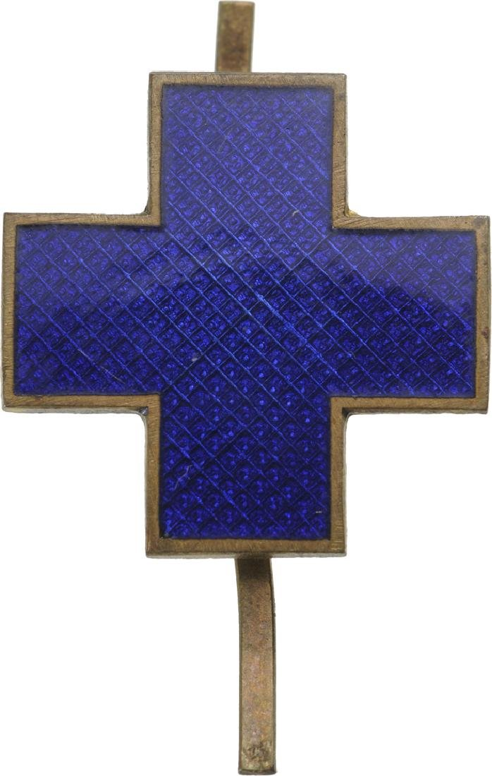 """Council of Patronage"" Blue Cross Badge"