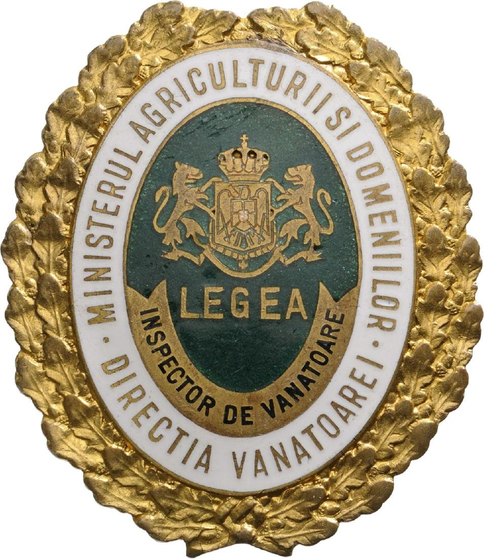 """Badge of Hunting Inspector"" 1930"