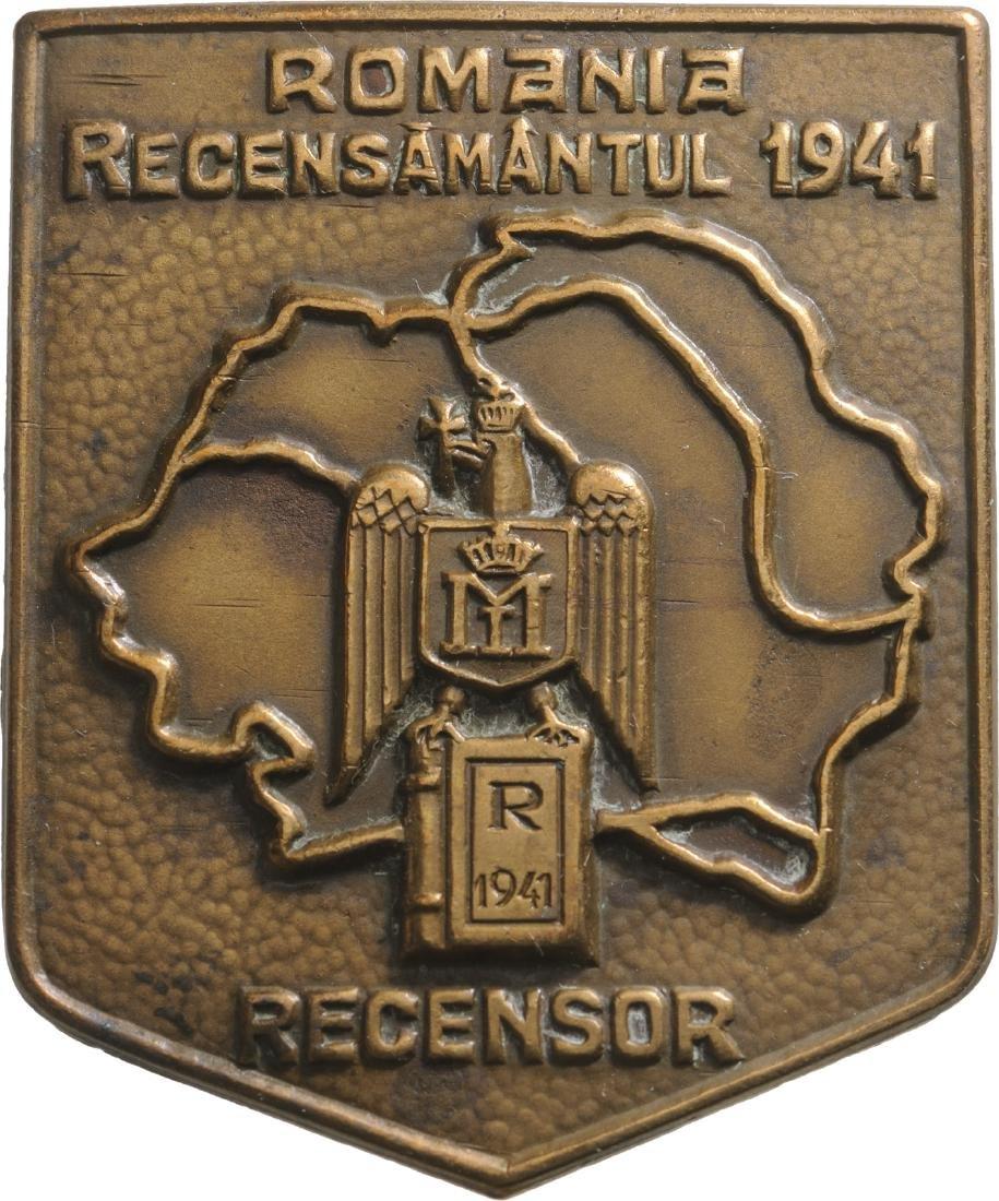 Census Representative Badge 1941