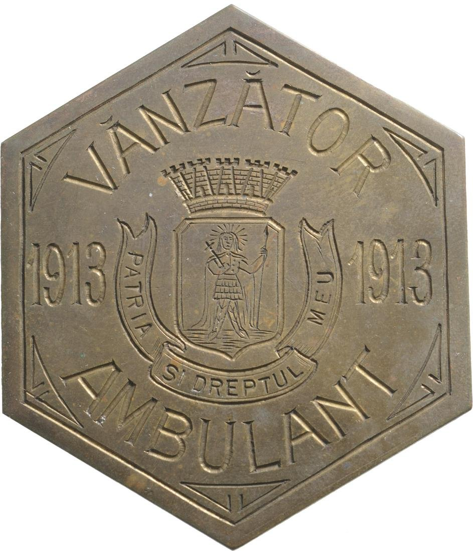 Badge of Itinerant Salesmen, 1913