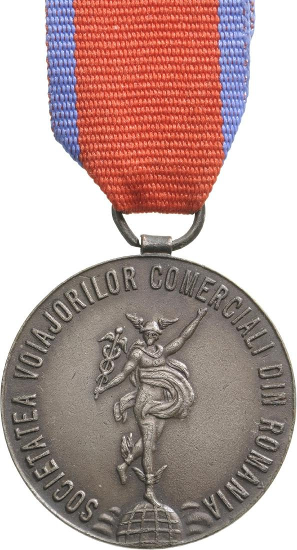 Carol II - Medal of the Society of the Itinerant