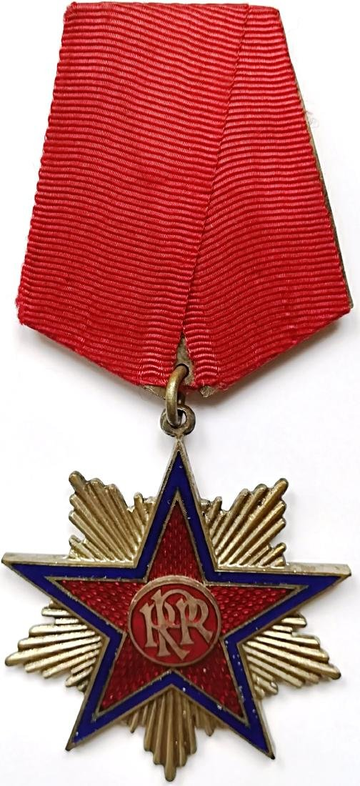 RPR - ORDER OF THE STAR OF ROMANIA, instituted in 1948