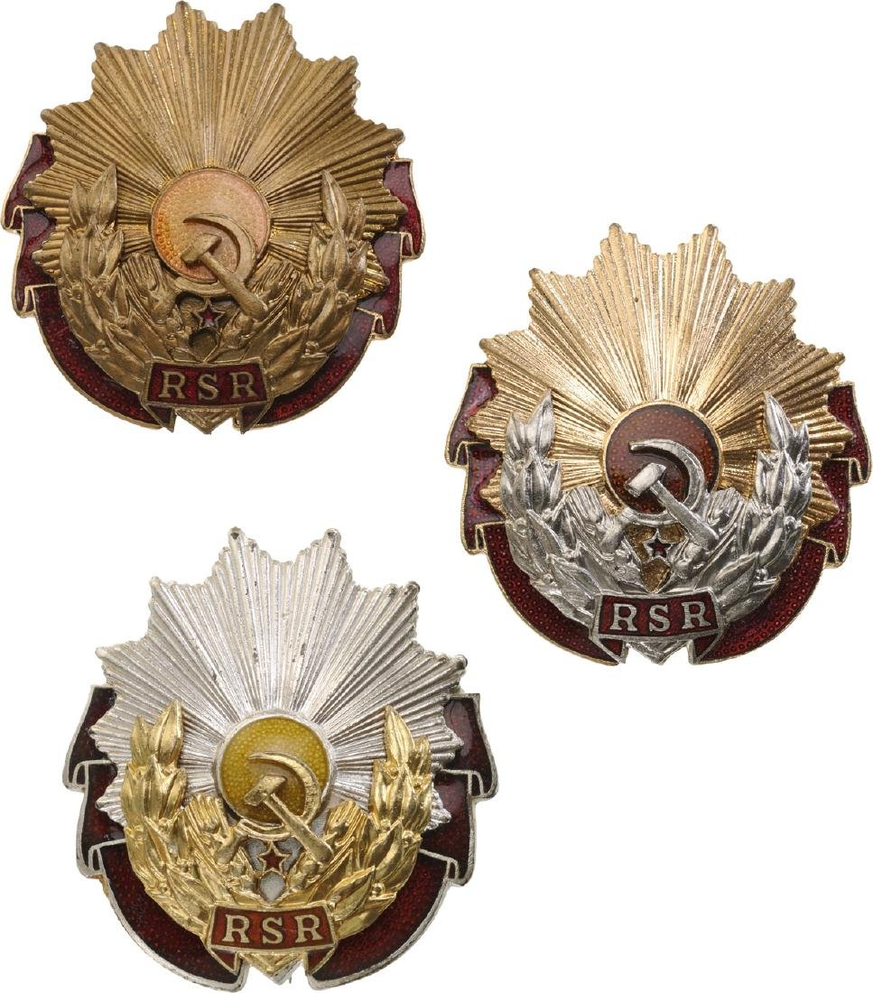 RSR - ORDER OF LABOUR, 1948-1965