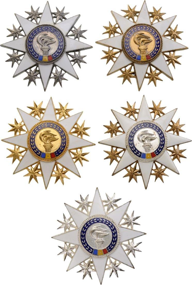 RSR - ORDER FOR CULTURAL MERIT, instituted in  1966