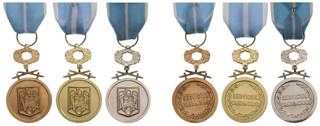 MEDAL OF THE FAITHFULL SERVICE, 1935