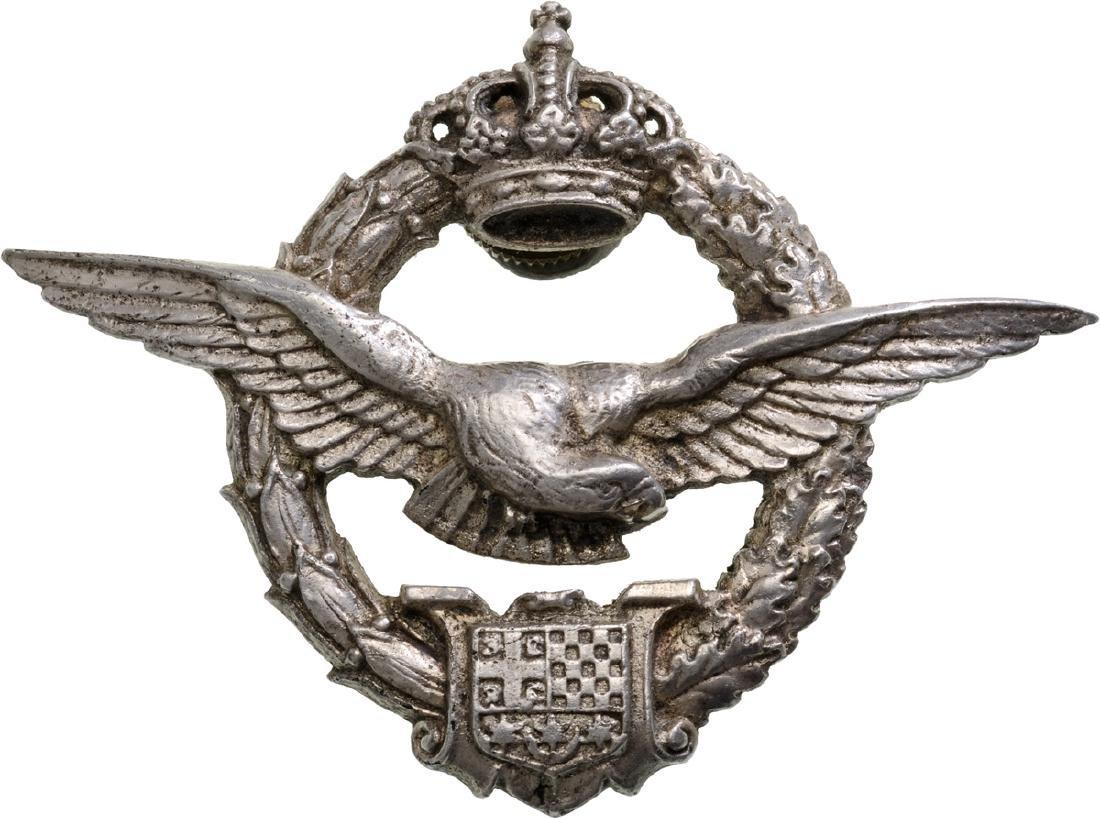 Pilot Badge, Royal Period, instituted in 1922.