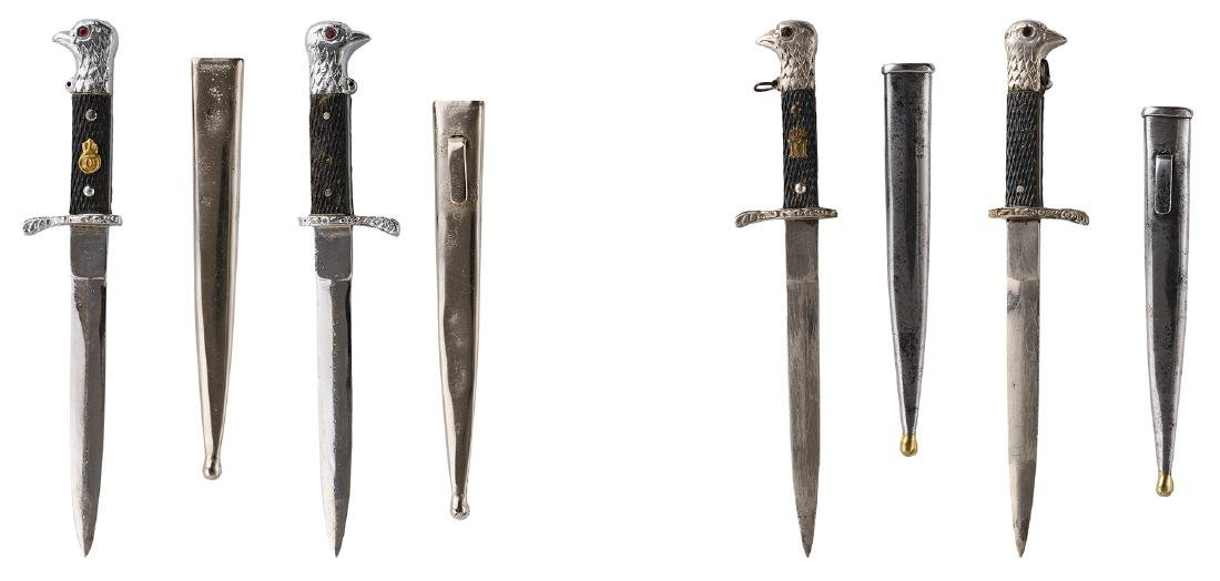 Lot of 2 Daggers King Charles II and King Michael I