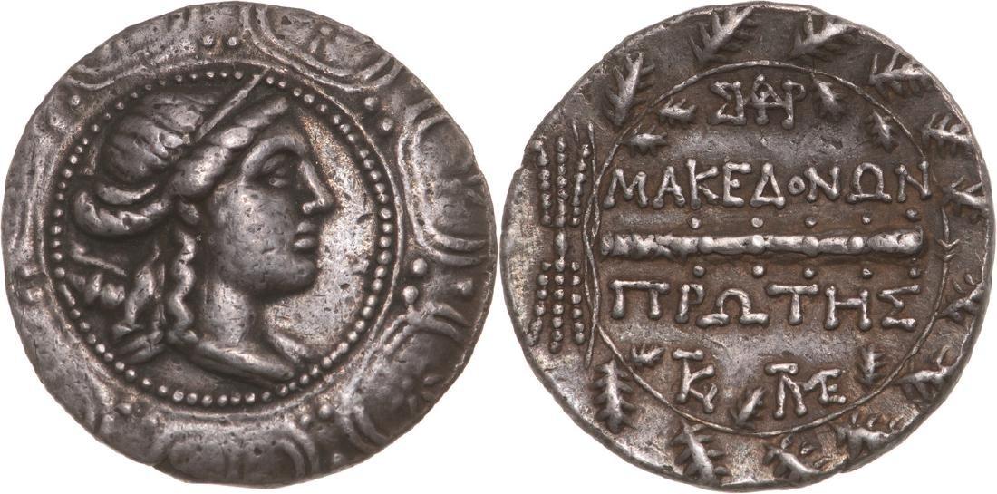Macedonia under Roman rule, Tetradrachme (16.7 g),