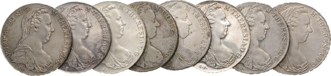 Lot of 8 Silver Coins