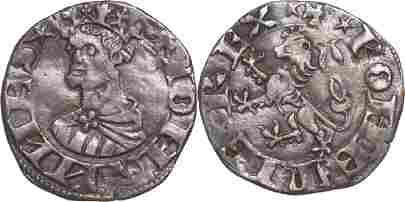 JOHN I THE BLIND (1331-1335), Grosso 1331