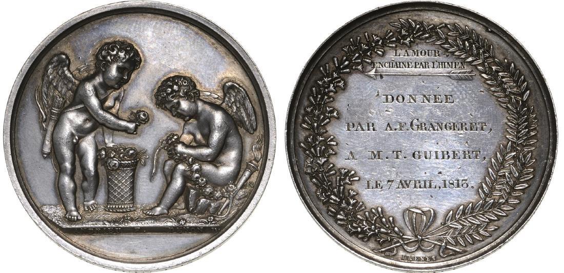 Mariage Medal 1815