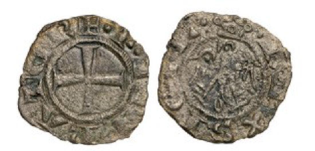 Sicily, Frederico II (1197-1250), Denaro, Billon (0.6