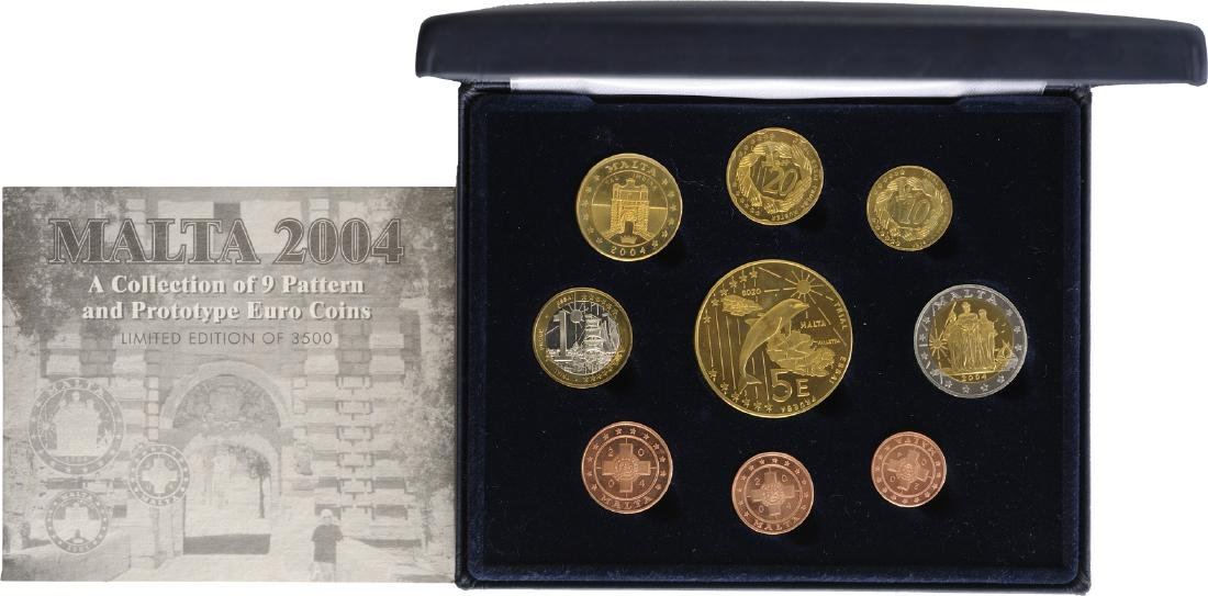 2004 Pattern and Prototype Euro Coin Set