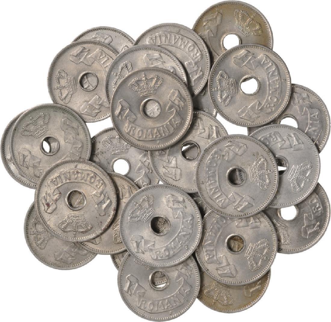 5 Bani 1906, Lot of 25, Uncirculated - Prooflike,