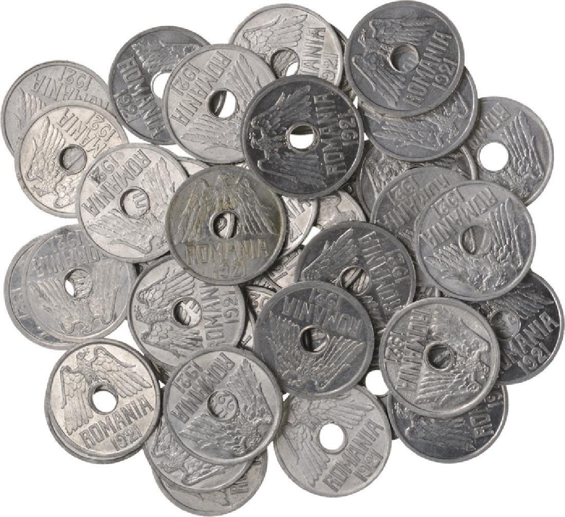 25 Bani 1921, Lot of 43, Al