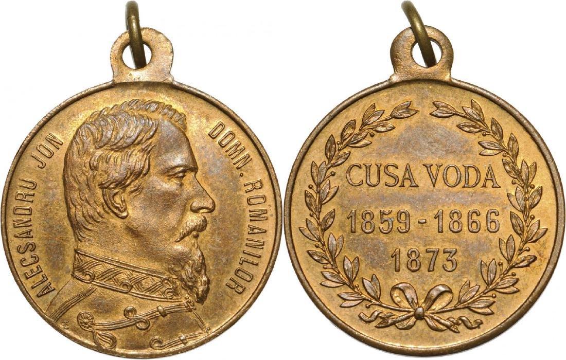 Alexandru Ioan Cuza - Commemorative Medal, 1873