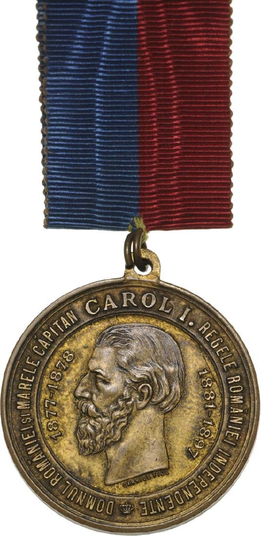 Carol I - Inauguration of the Grivita Heroes Statue in