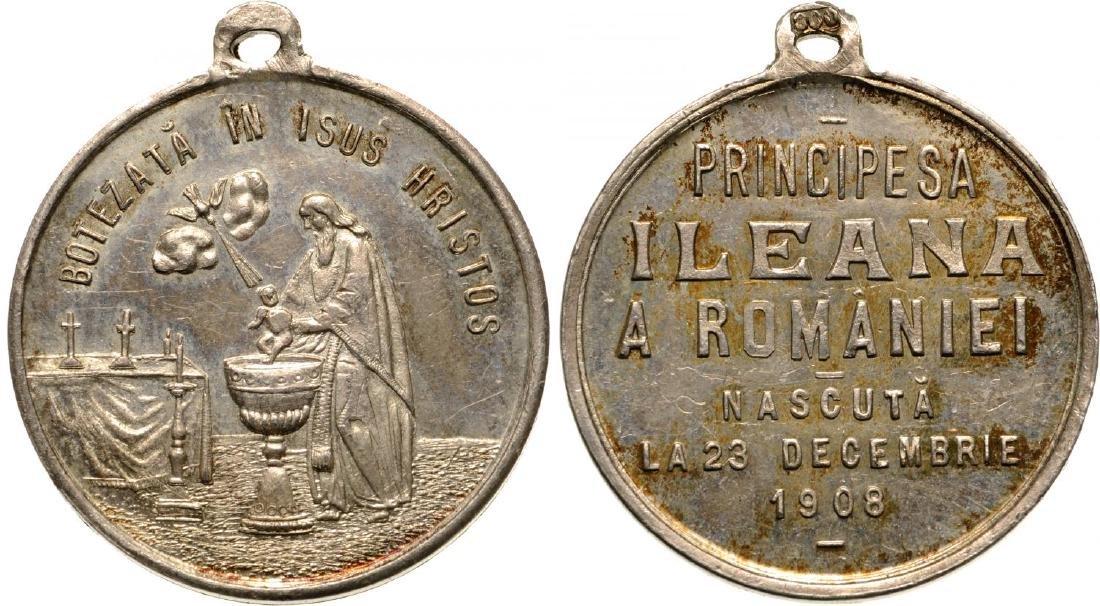 Carol I - Baptism of Pricess Ileana
