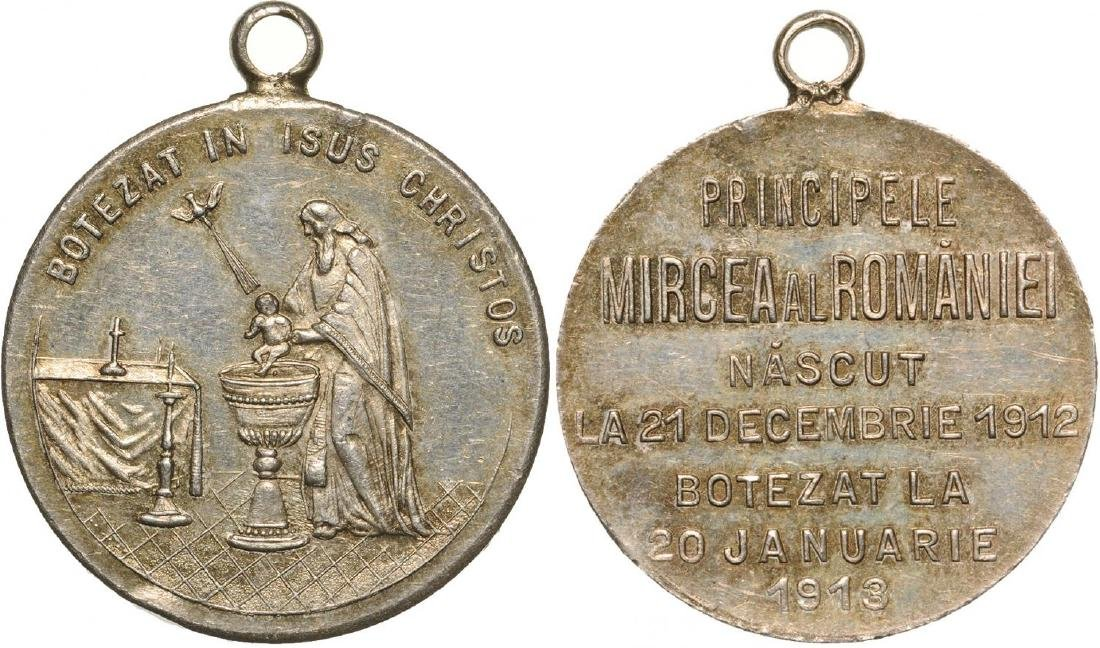 Carol I - Baptism of Prince Mircea of Romania,son of