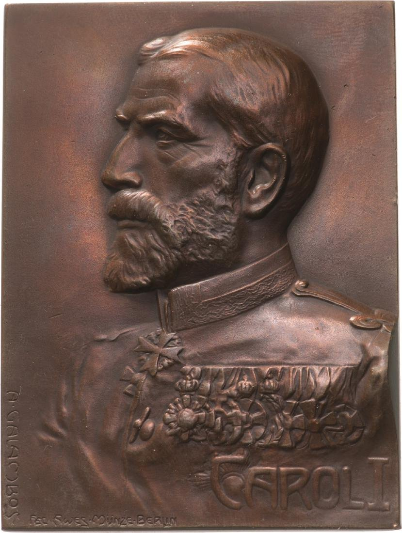 Portrait of King Carol I