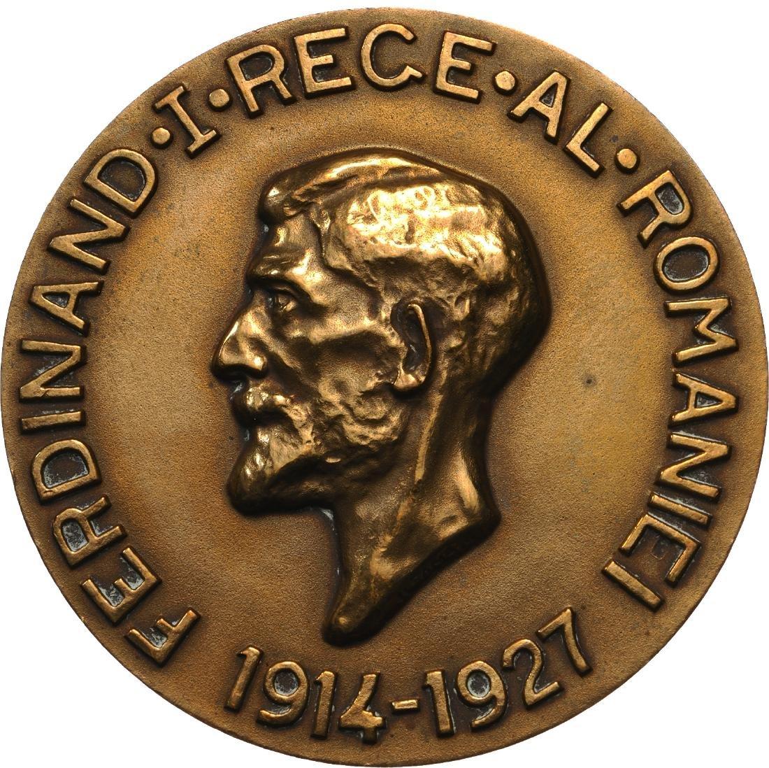Ferdinand I - Commemorative Reign Medal 1914-1927
