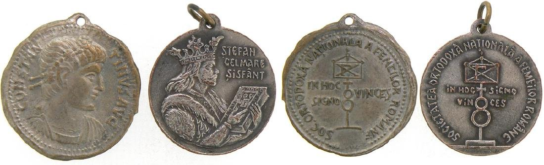 Lot of 2 Medals, National Orthodox Women`s Society