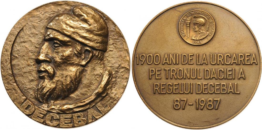 """Socialist Republic - Medal """"1900 Years from the"""