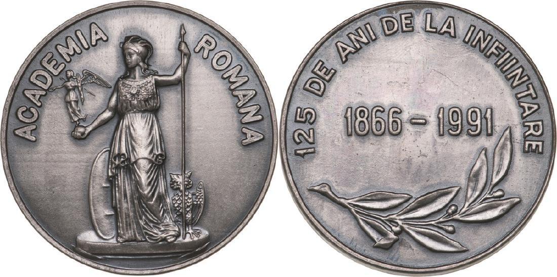Republic - 125th Anniversary of the Romanian Academy