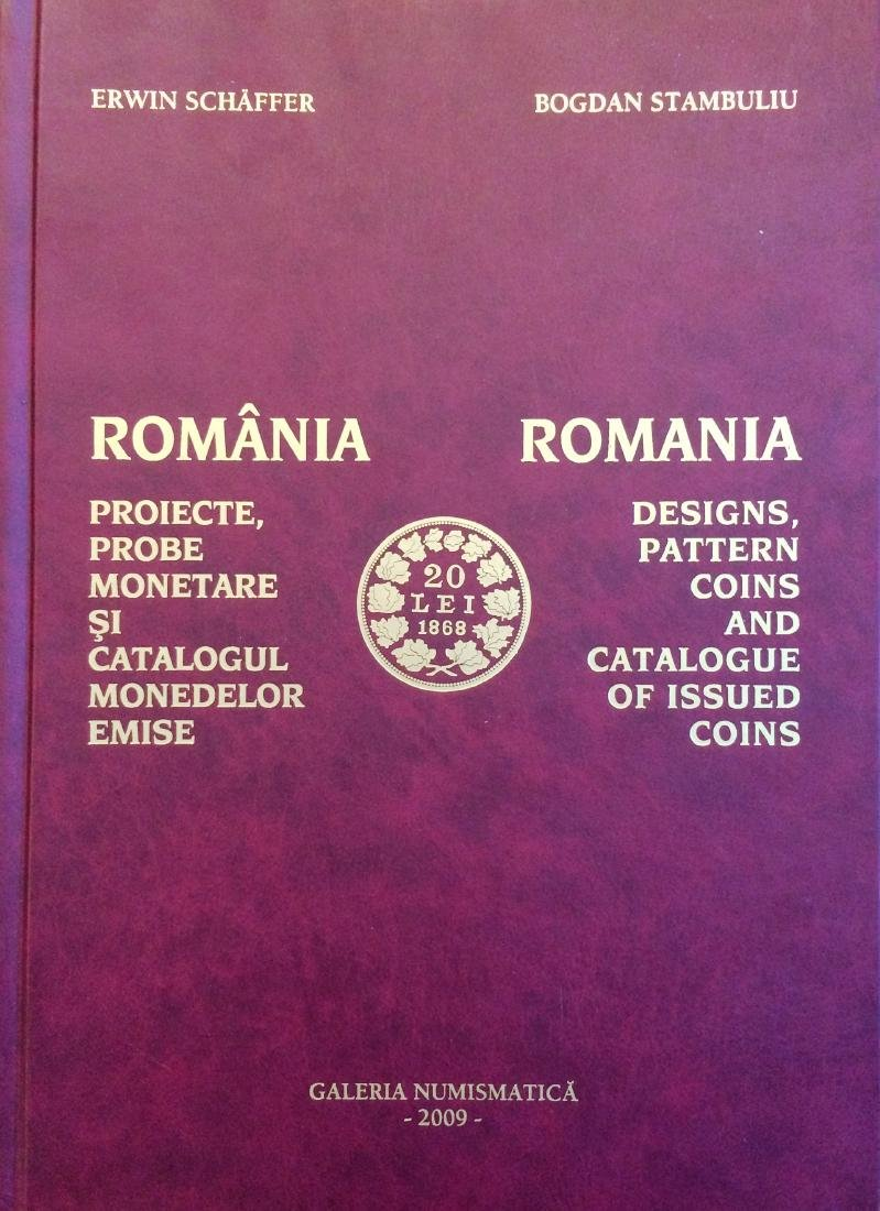 Romania - Designs,Pattern coins and catalogue of Issued