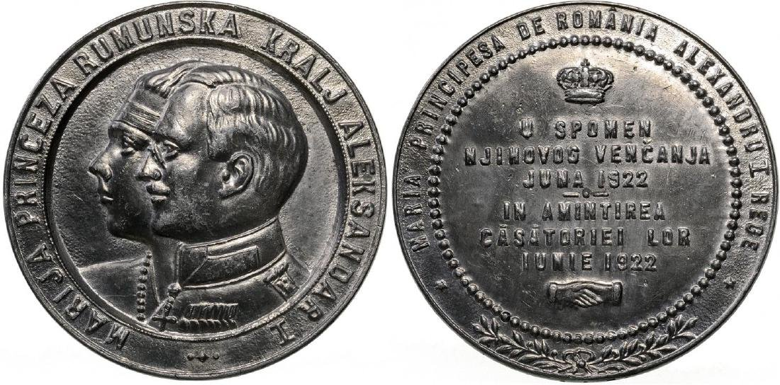 Commemorative Medal of the Royal Wedding between Maria,