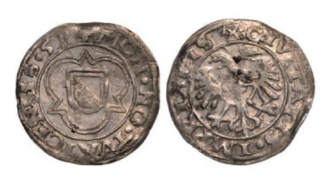 Zurich, Groschen 1558, Silver (2.08 g)