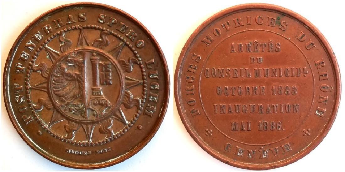 Medal 1886, Geneva