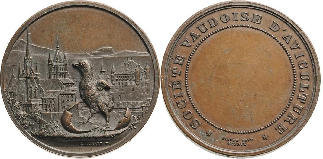 Bronze Medal (40 mm, 37 g) ND (cca. 1880)