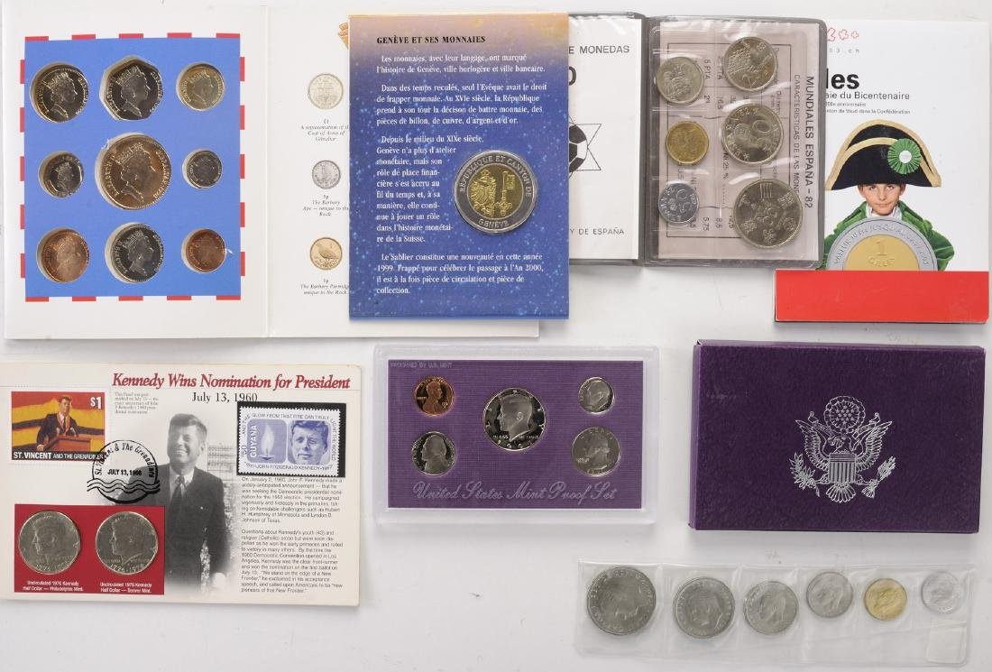 World Coin Sets & Singles