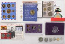 World Coin Sets  Singles