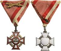 MILITARY MERIT CROSS 3rd Class instituted in 1849