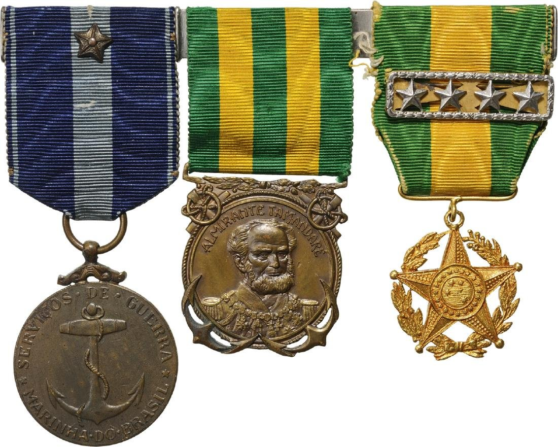 A personal group of 3 Medals