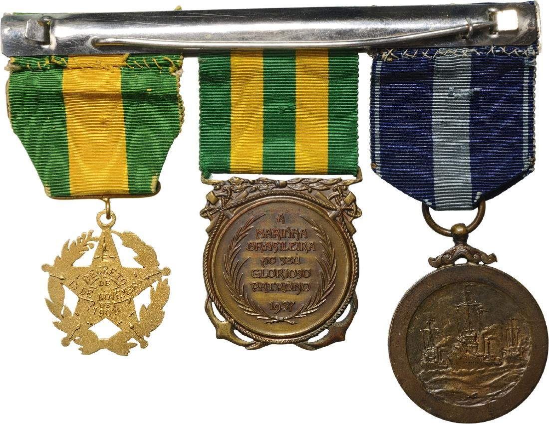 A personal group of 3 Medals - 2