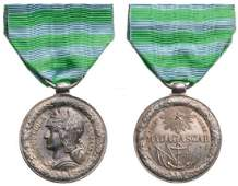 Madagascar 1883-1886 Campaign Medal, 1st republic,