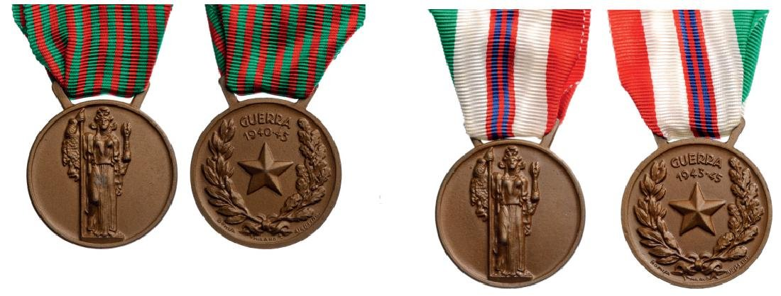 Lot of 2 Commemorative Medals