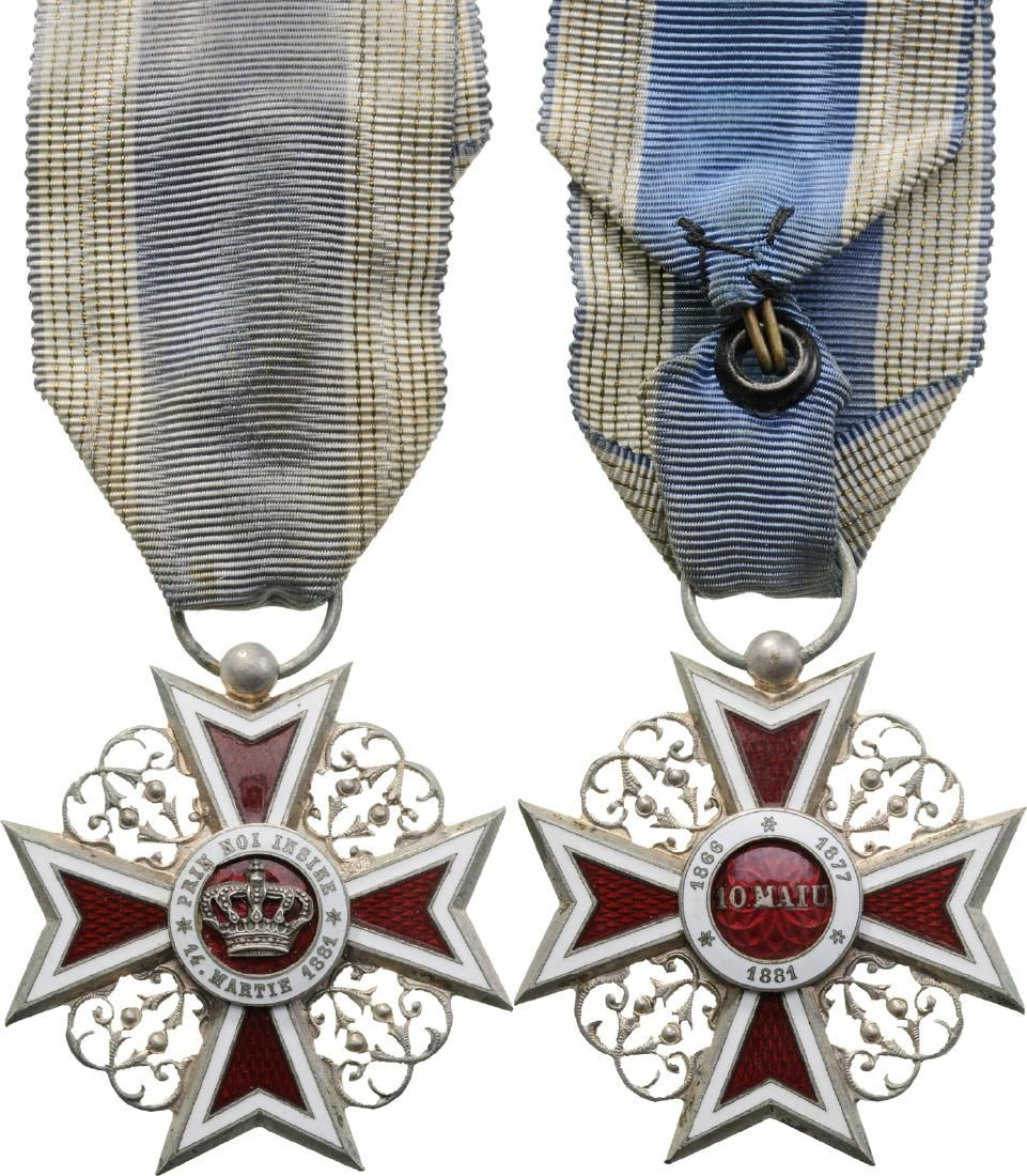 ORDER OF THE CROWN OF ROMANIA, 1889