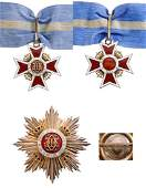 ORDER OF THE CROWN OF ROMANIA 1881
