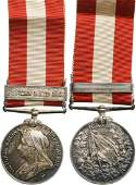 Canada General Service Medal instituted in 1899