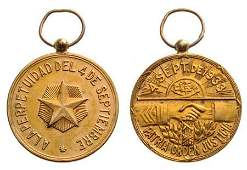 National Reconciliation Medal instituted in 1933