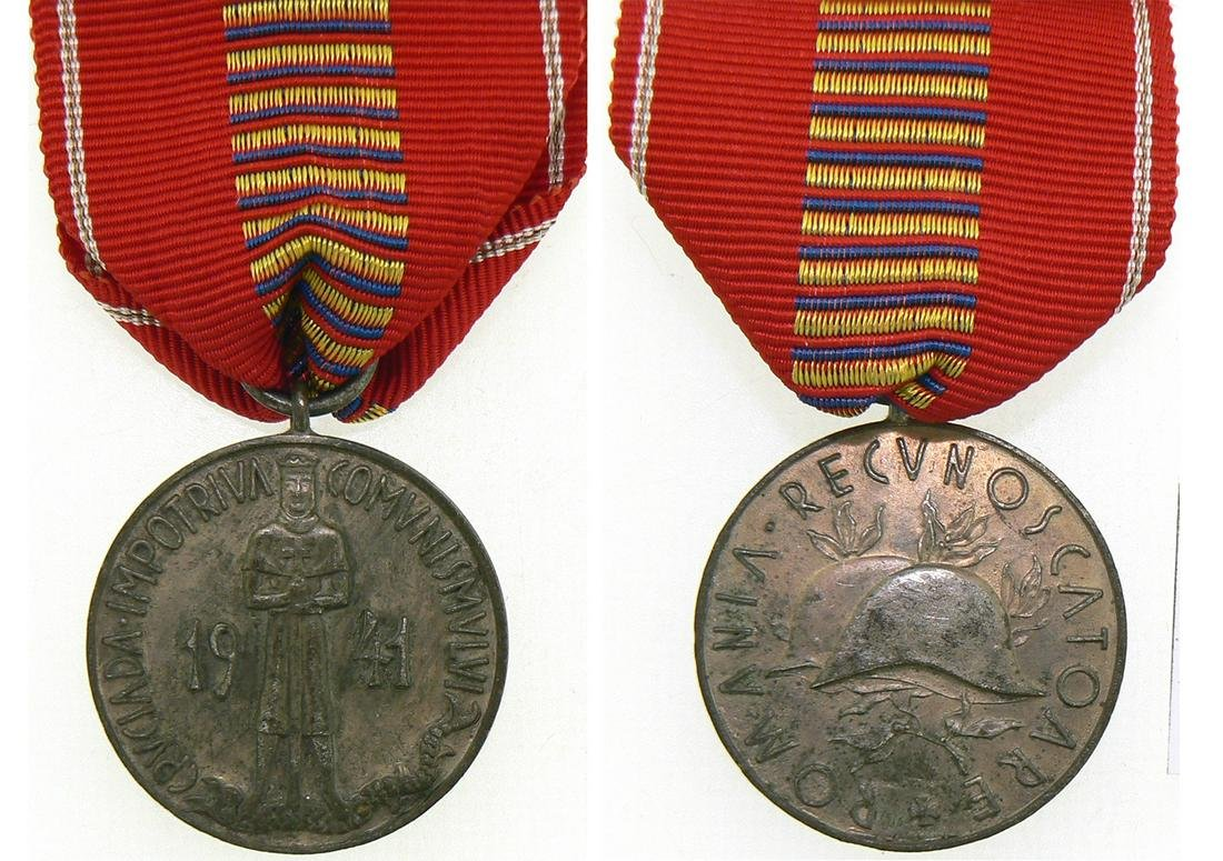 The Cruisade Against Communism Medal Pattern, 1941