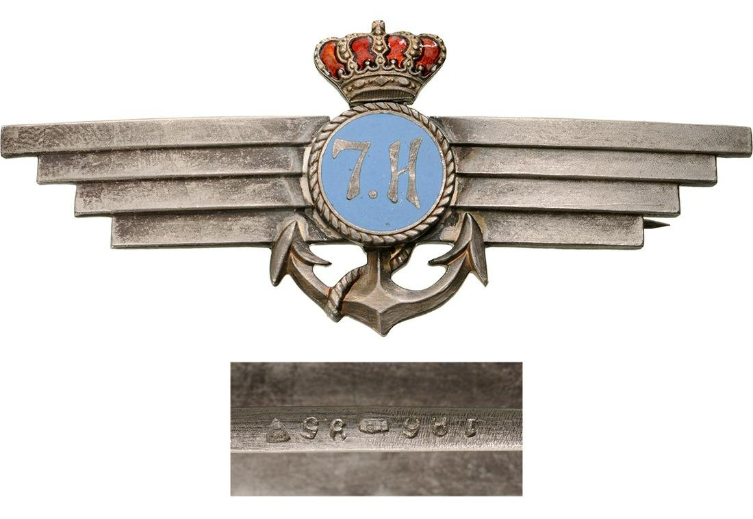 REGIMENTAL BADGE OF THE NAVAL AVIATION FLOTILLA