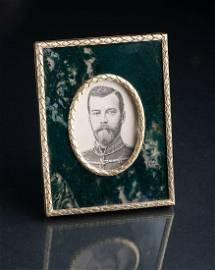 Fabergé wooden frame