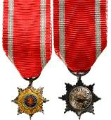 ORDER OF THE STAR OF ROMANIA 1864
