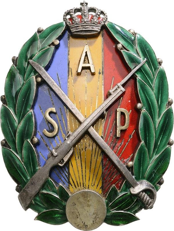 """BADGE OF THE """"RESERVE AND RETIRED PETTY OFFICERS"""" MODEL"""
